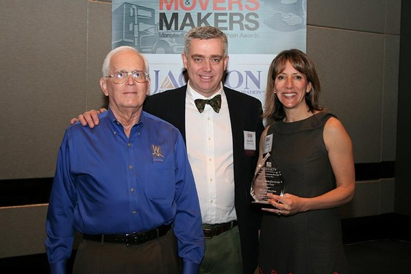 Movers and shakers award